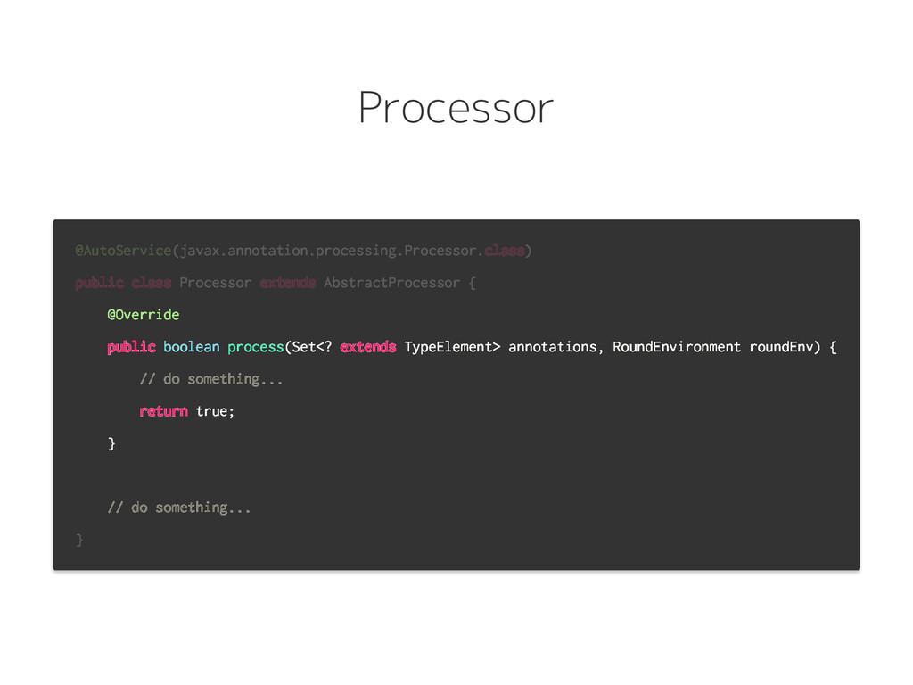 Processor @AutoService(javax.annotation.process...