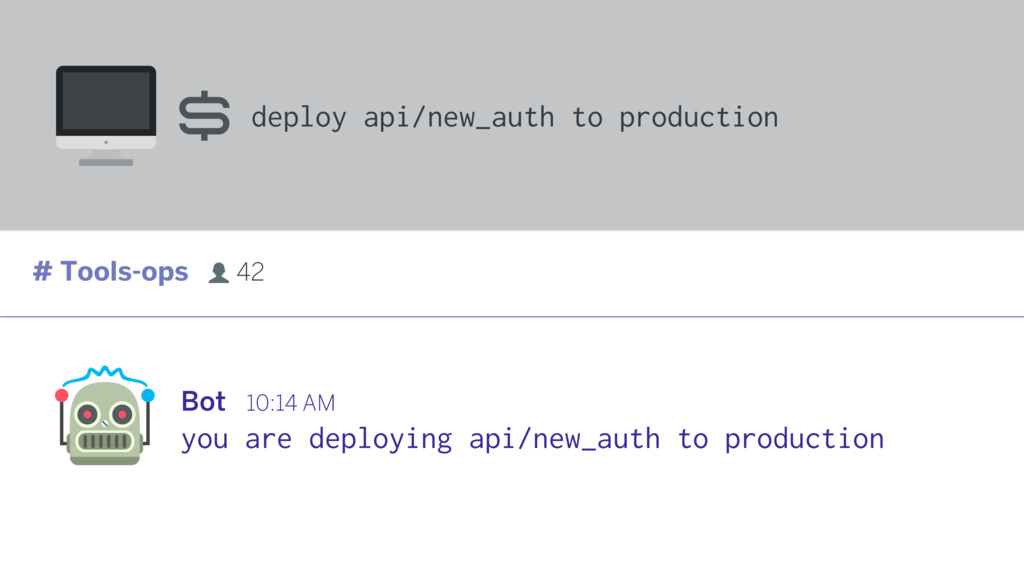 Bot 10:14 AM deploy api/new_auth to production ...