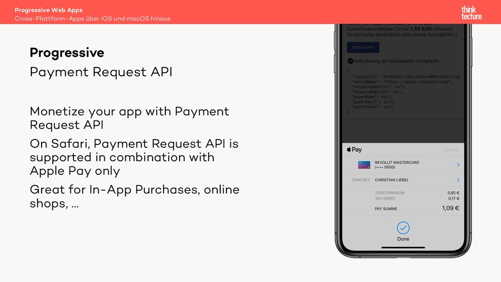 Payment Request API Monetize your app with Paym...