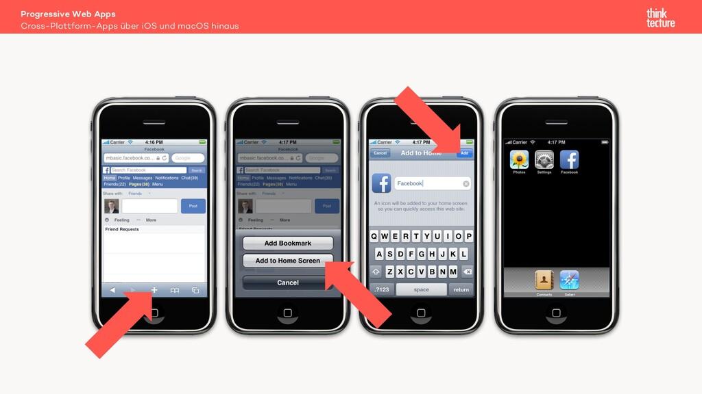 Cross-Plattform-Apps über iOS und macOS hinaus ...