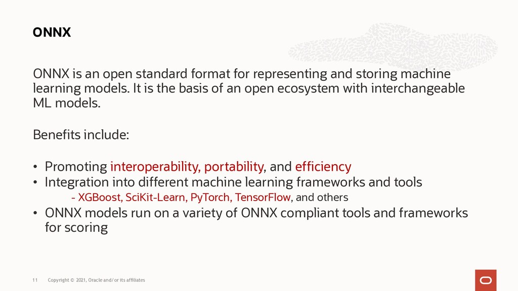 ONNX is an open standard format for representin...