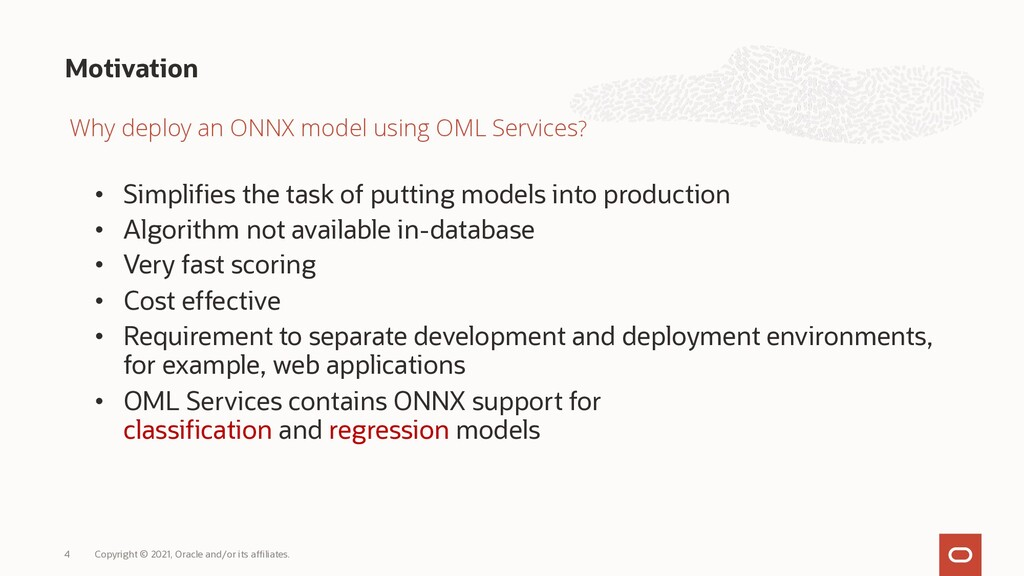 • Simplifies the task of putting models into pr...