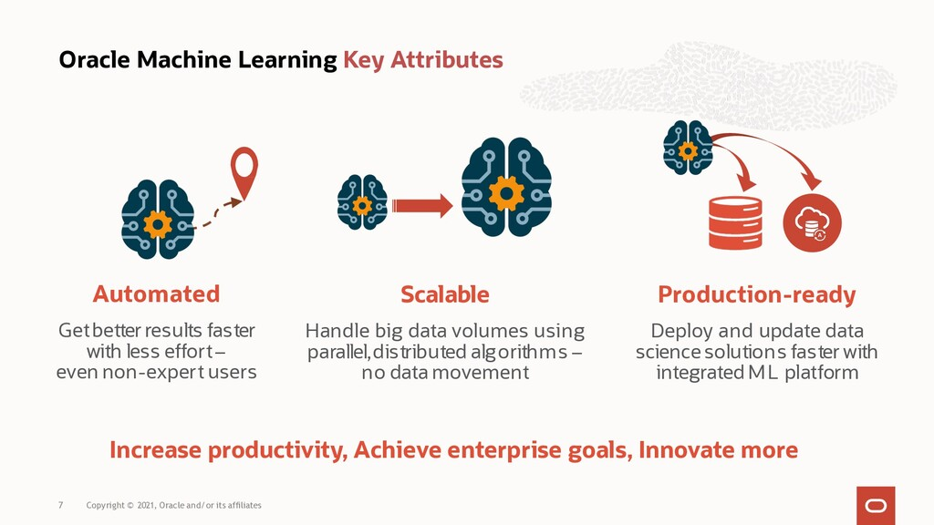 Oracle Machine Learning Key Attributes Automate...