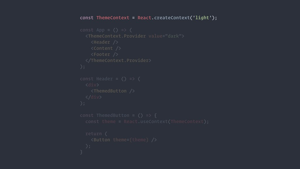 const ThemeContext = React.createContext('light...