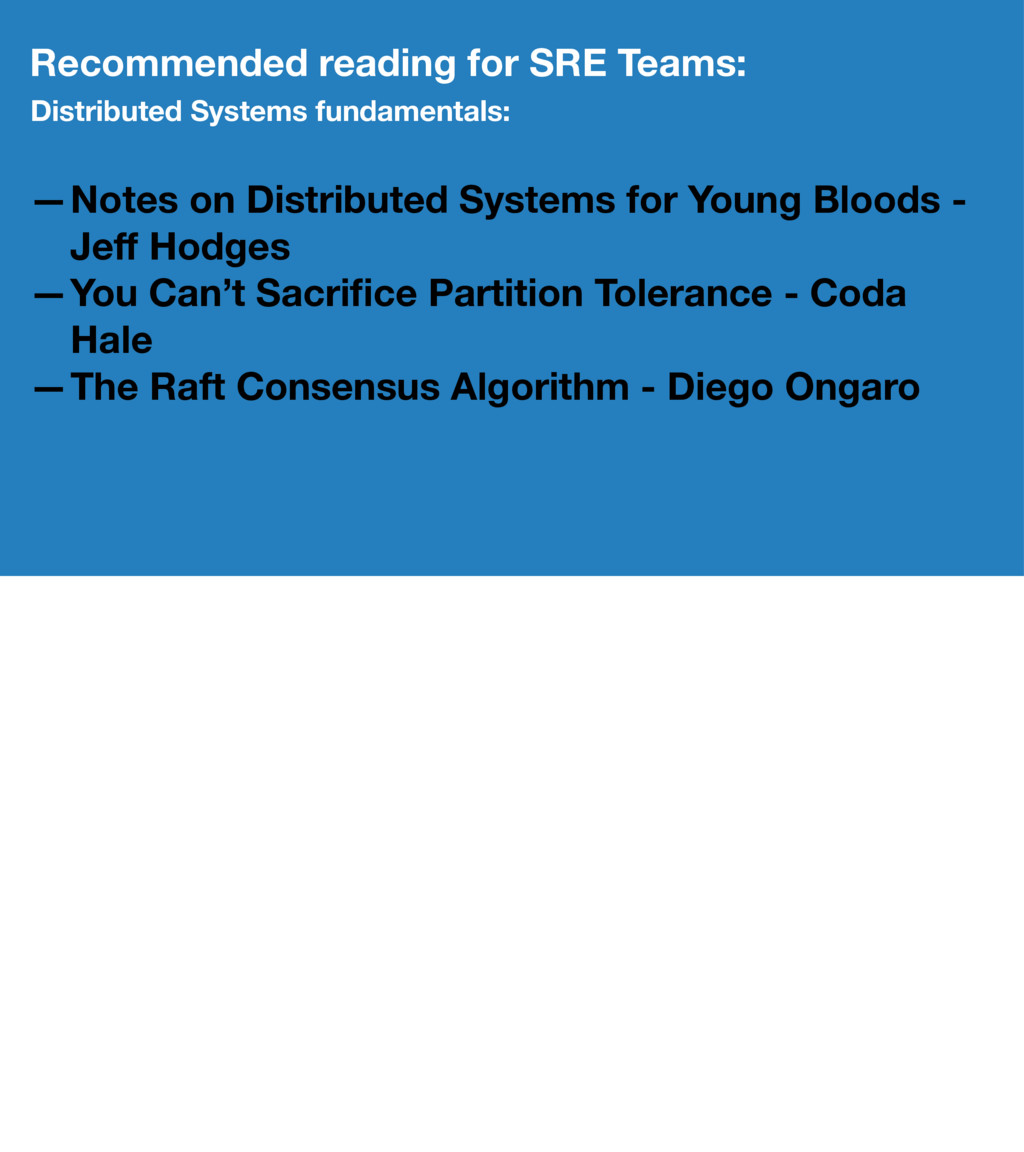 Recommended reading for SRE Teams: Distributed ...