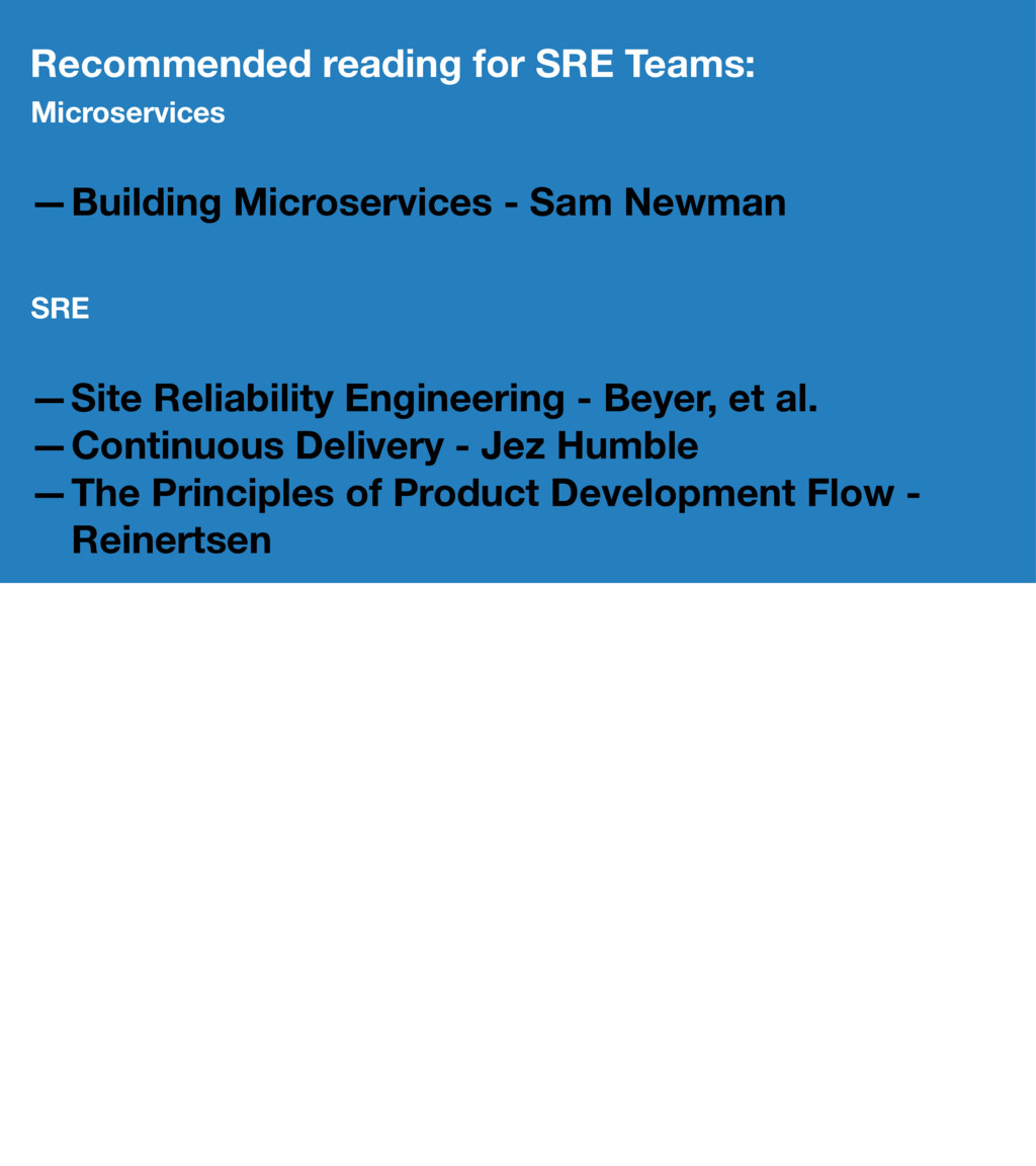 Recommended reading for SRE Teams: Microservice...