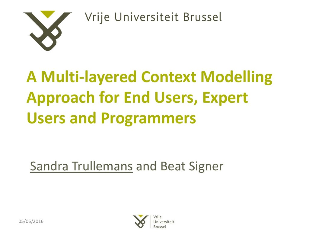 A Multi-layered Context Modelling Approach for ...
