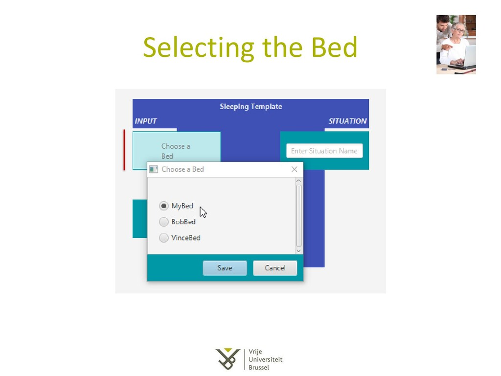 Selecting the Bed