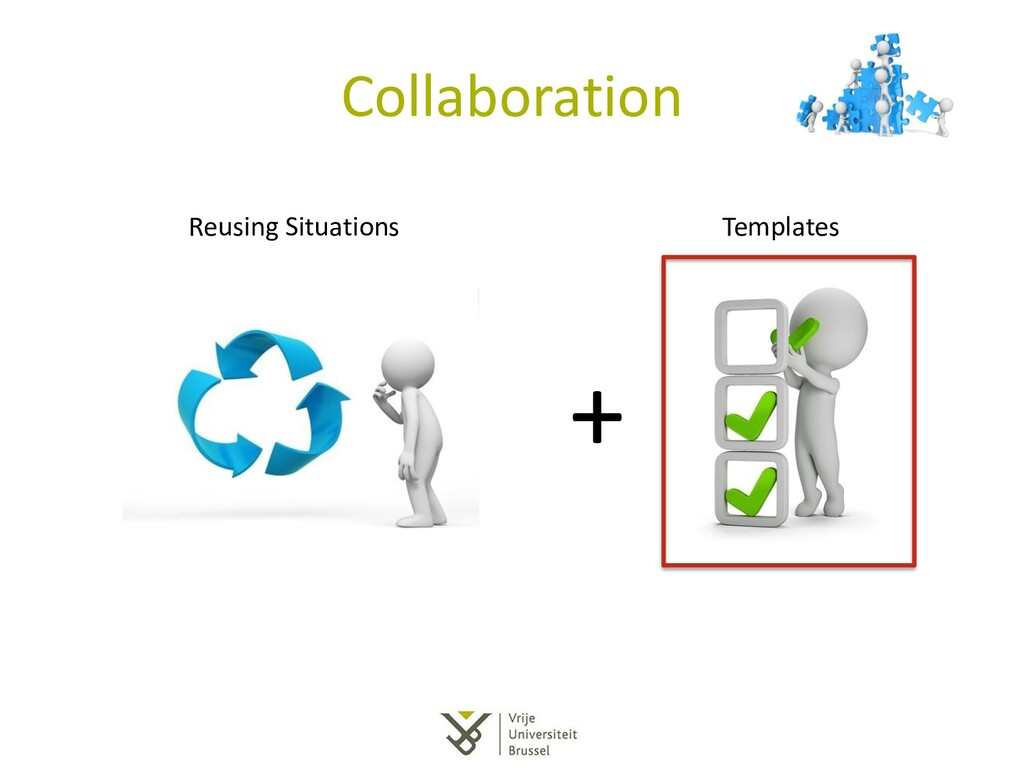 Collaboration + Reusing Situations Templates