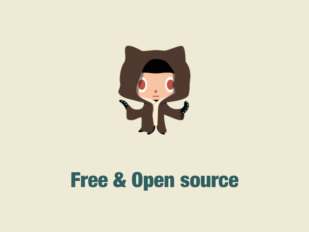 Free & Open source