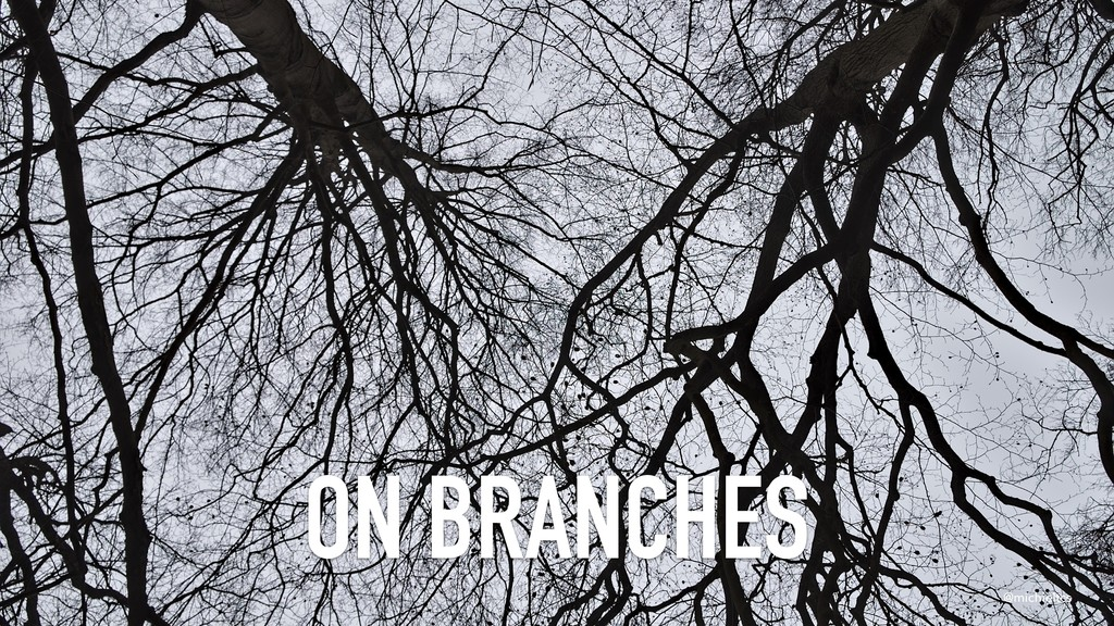 @michieltcs ON BRANCHES