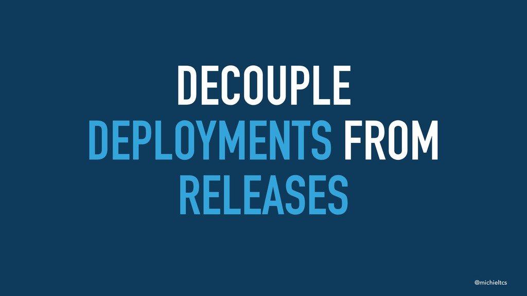 @michieltcs DECOUPLE
