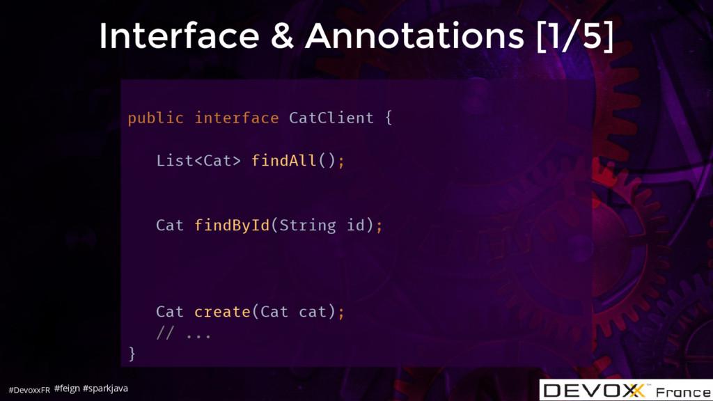#DevoxxFR Interface & Annotations [1/5] public ...