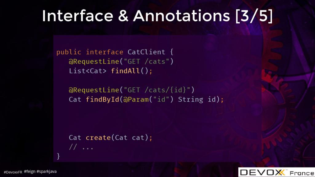 #DevoxxFR Interface & Annotations [3/5] public ...