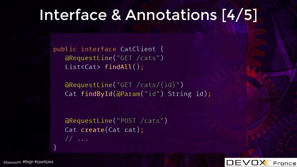 #DevoxxFR Interface & Annotations [4/5] public ...