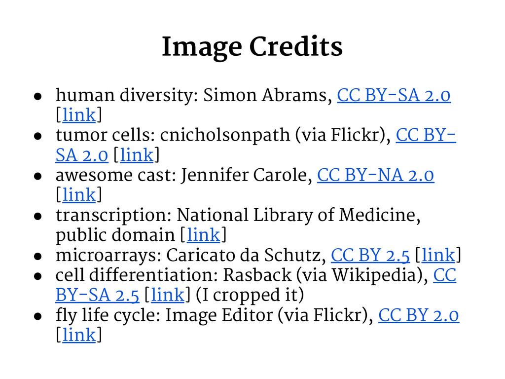 Image Credits ● human diversity: Simon Abrams, ...