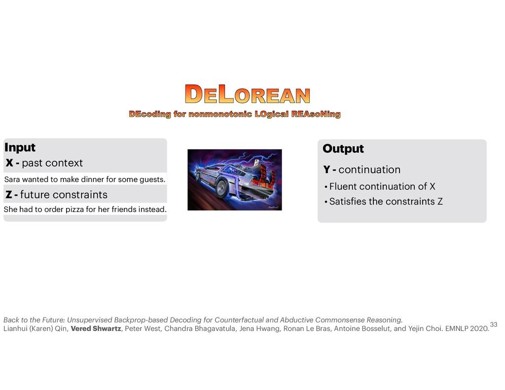 Output Y - continuation • Fluent continuation o...