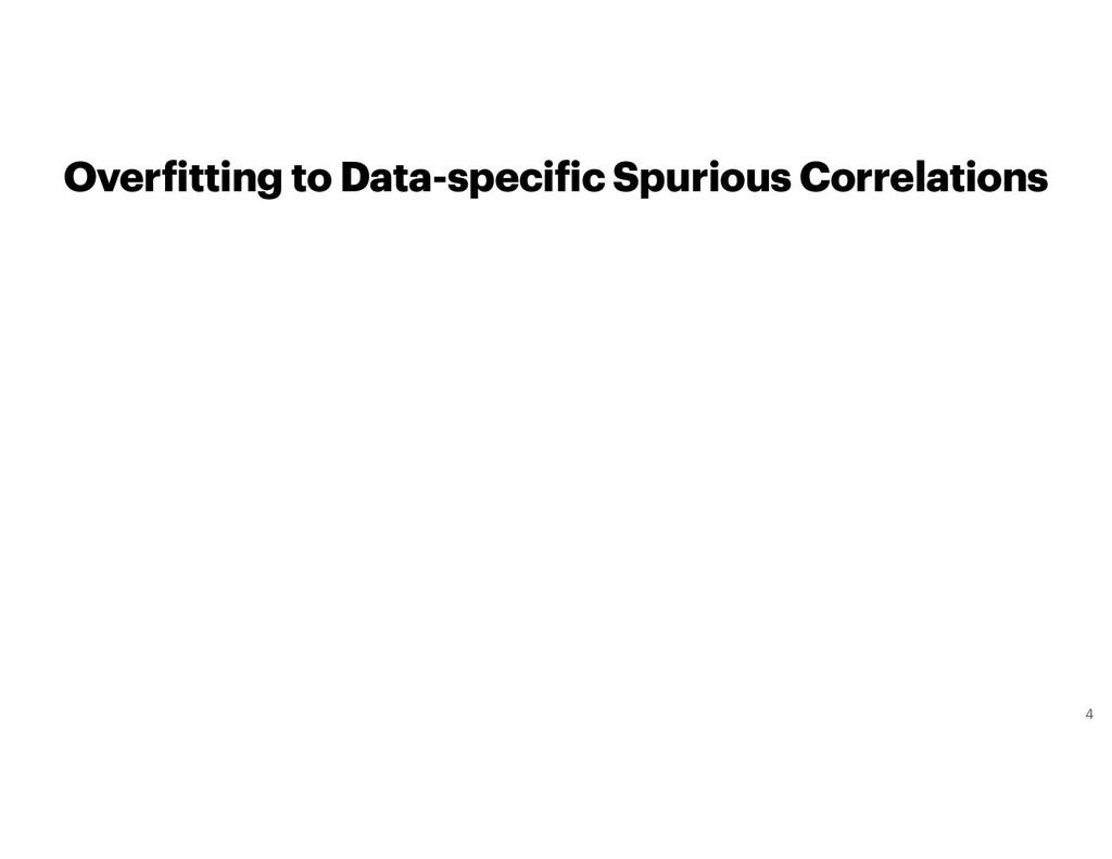 Overfitting to Data-specific Spurious Correlati...