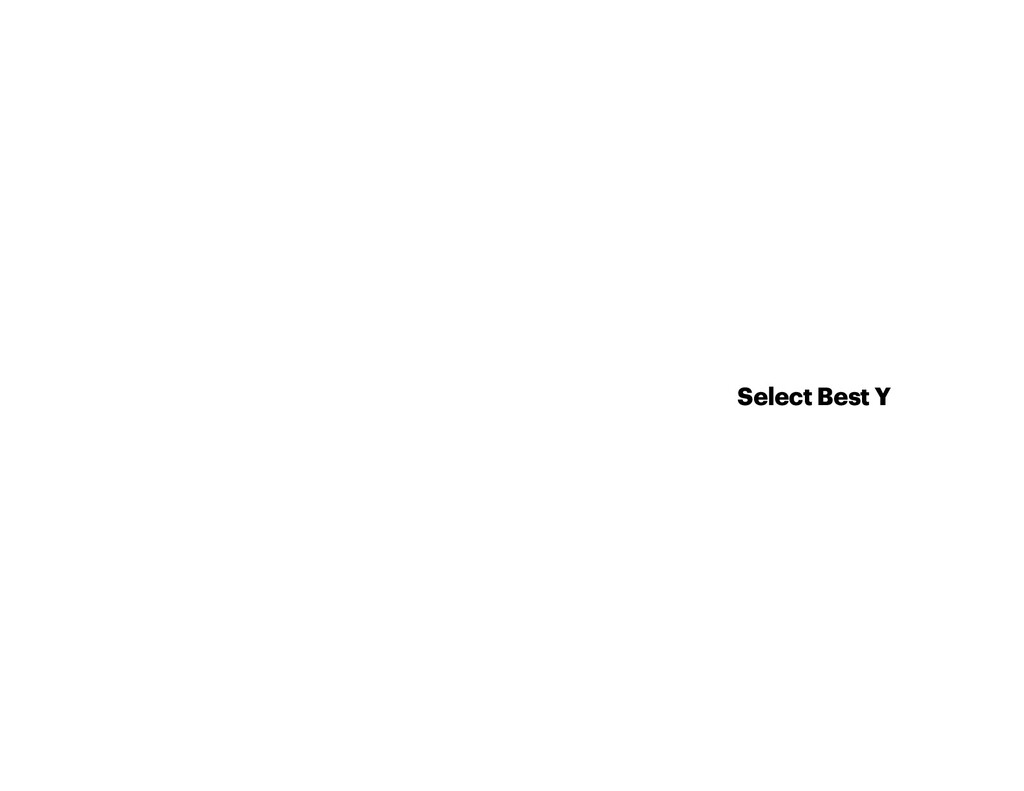 Select Best Y