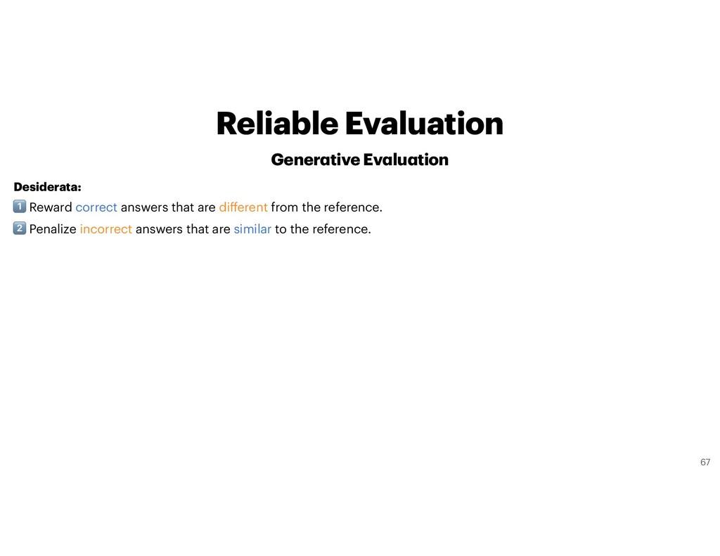 Desiderata: $ Reward correct answers that are d...