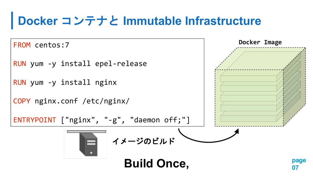 Docker  Immutable Infrastructure page 07 F...
