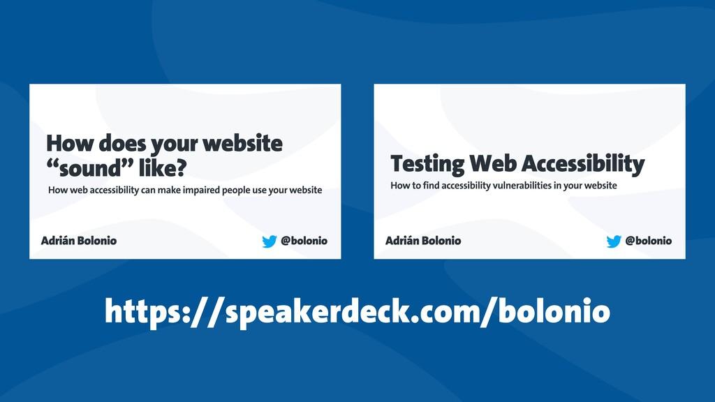 https://speakerdeck.com/bolonio
