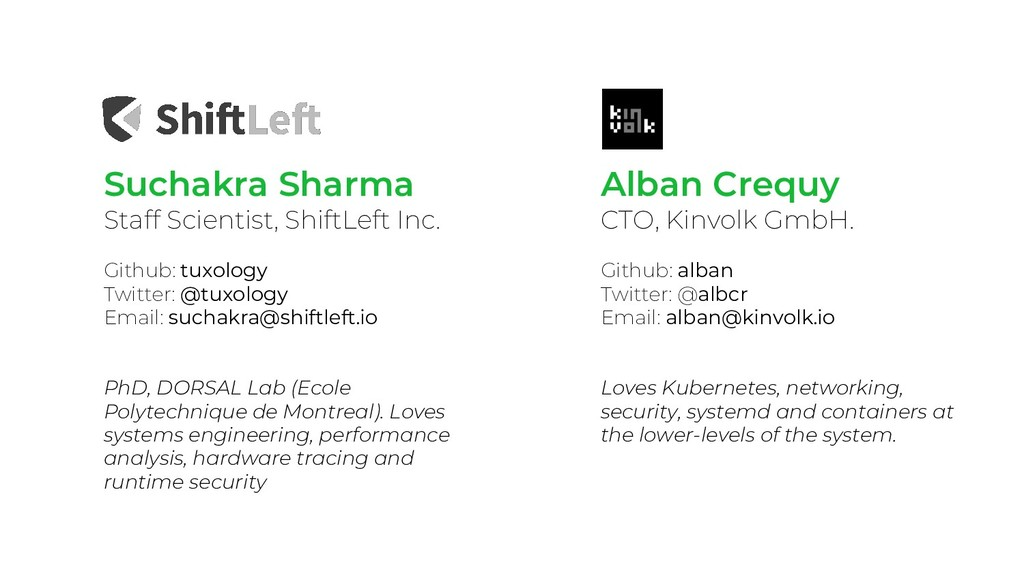Suchakra Sharma Staff Scientist, ShiftLeft Inc....