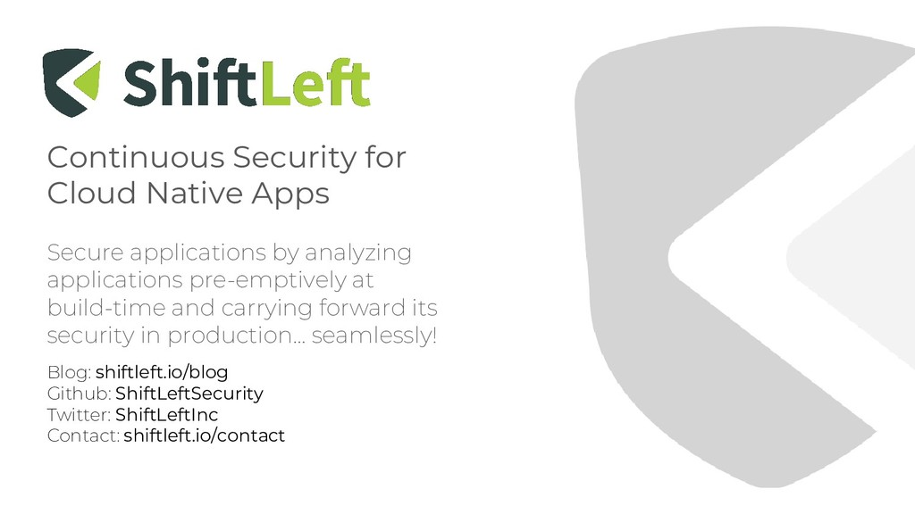 Continuous Security for Cloud Native Apps Secur...