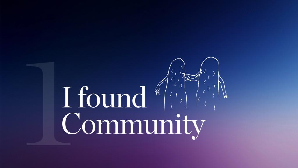 1I found Community