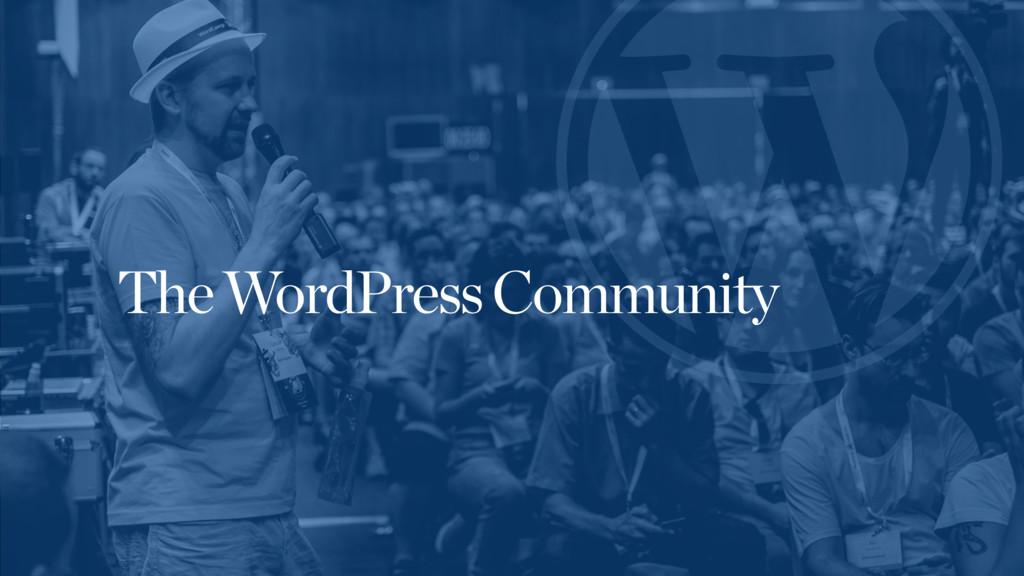 The WordPress Community