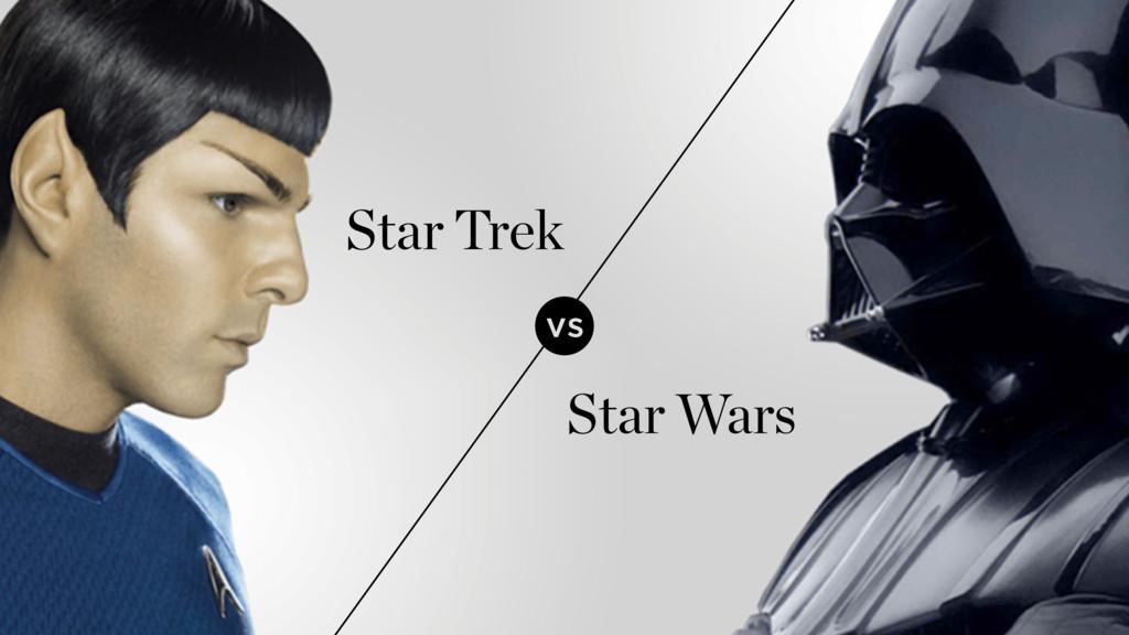 vs Star Trek Star Wars