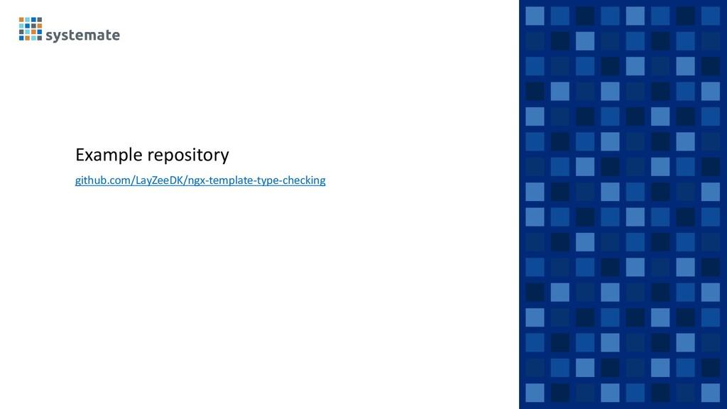 Example repository github.com/LayZeeDK/ngx-temp...
