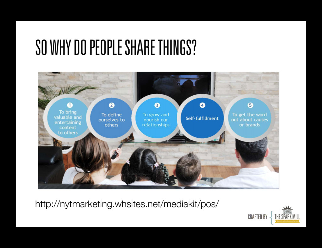 SO WHY DO PEOPLE SHARE THINGS? http://nytmarket...