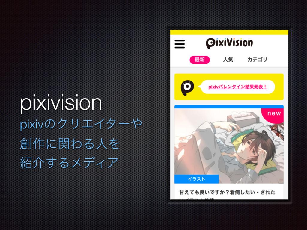 pixivision pixivͷΫϦΤΠλʔ ࡞ʹؔΘΔਓΛ հ͢ΔϝσΟΞ