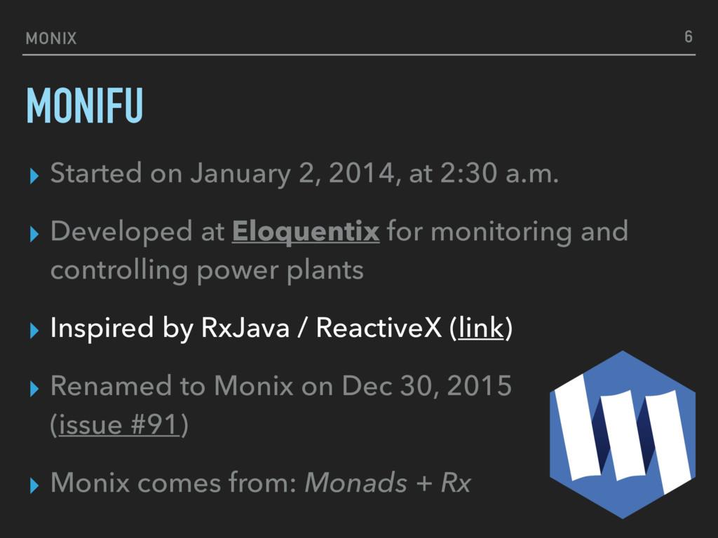 MONIFU ▸ Started on January 2, 2014, at 2:30 a....