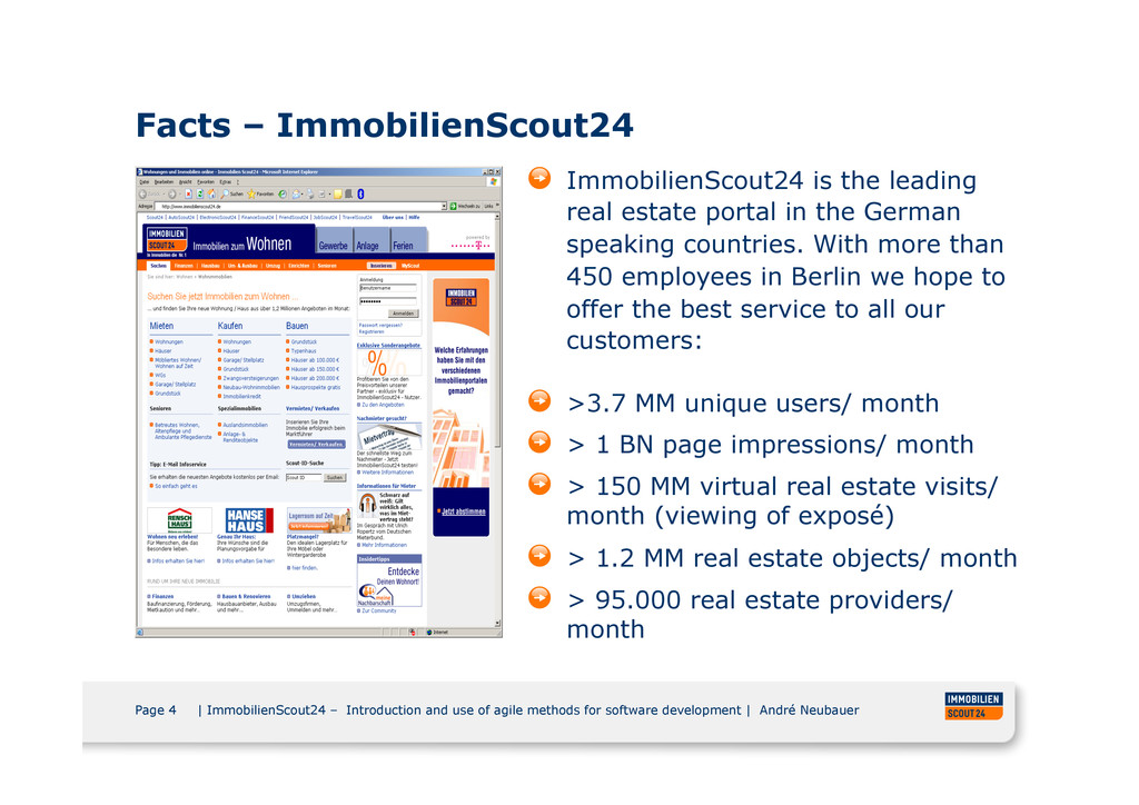 Page 4 | ImmobilienScout24 – Introduction and u...