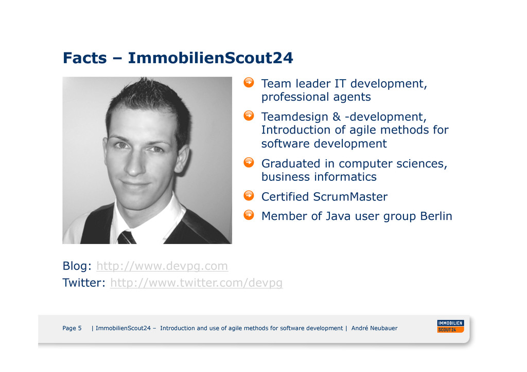 Page 5 | ImmobilienScout24 – Introduction and u...