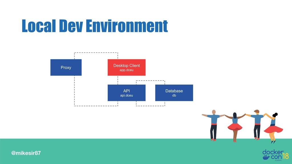 @mikesir87 Local Dev Environment Proxy Desktop ...