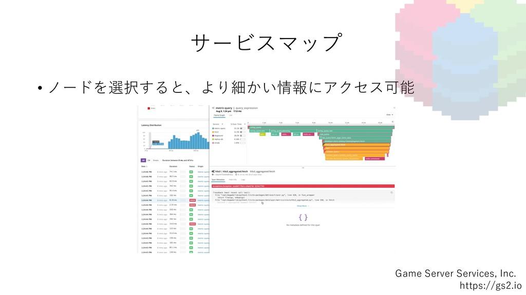 Game Server Services, Inc. https://gs2.io サービスマ...