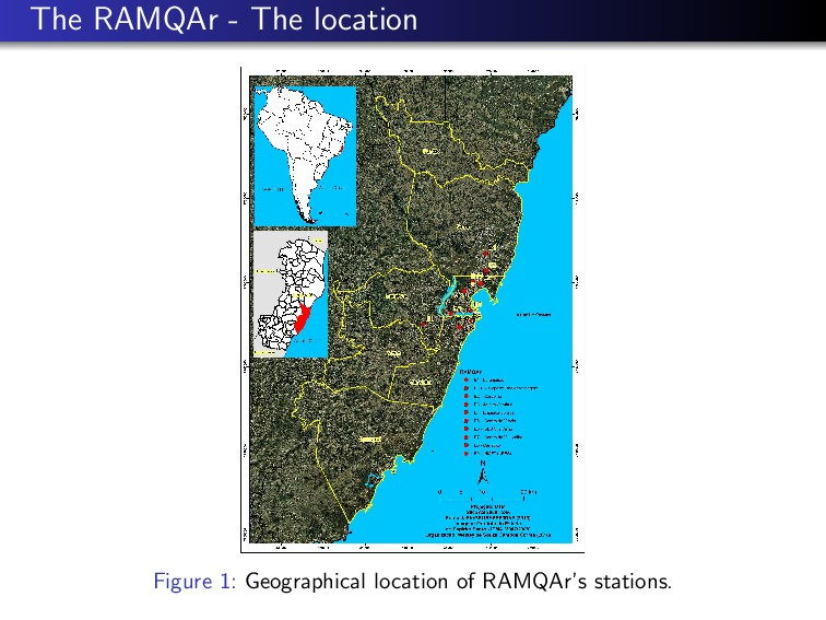 The RAMQAr - The location Figure 1: Geographica...