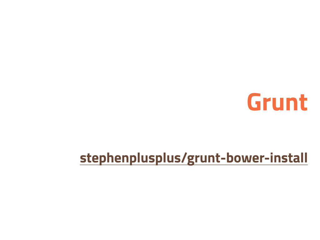 Grunt stephenplusplus/grunt-bower-install