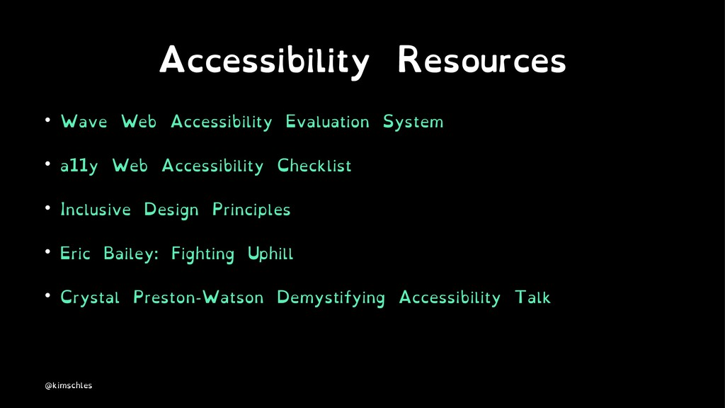 Accessibility Resources • Wave Web Accessibilit...