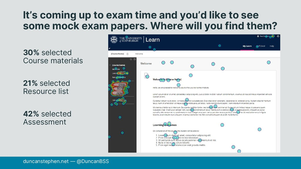 It's coming up to exam time and you'd like to s...