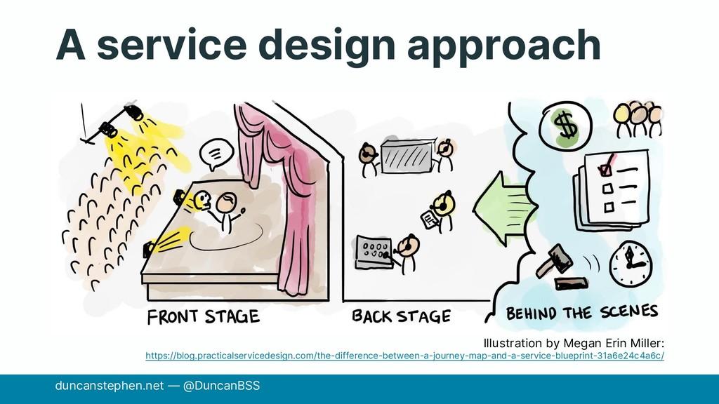 A service design approach duncanstephen.net — @...