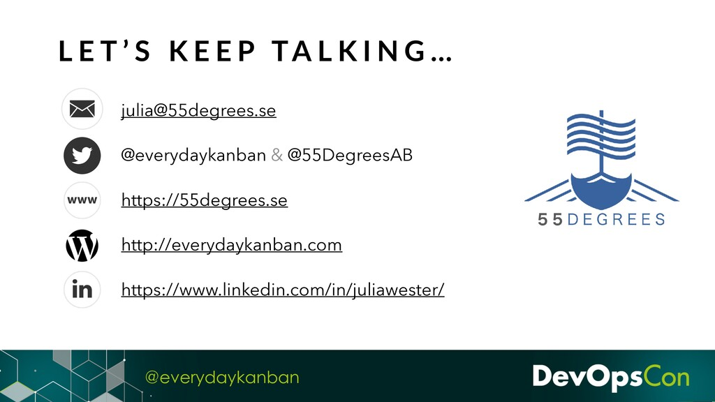 @everydaykanban julia@55degrees.se @everydaykan...