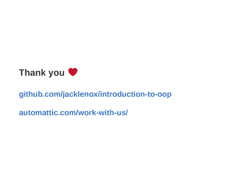 Thank you github.com/jacklenox/introductionto...
