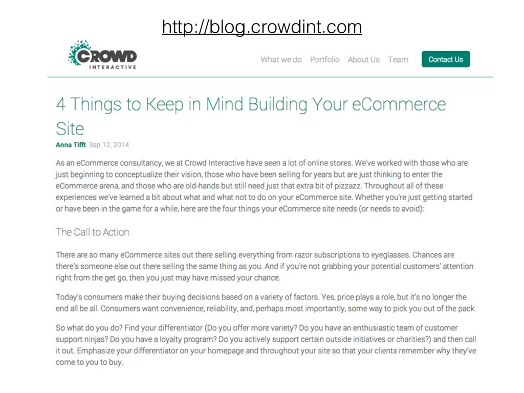 http://blog.crowdint.com