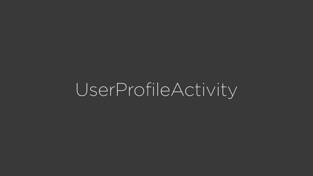 UserProfileActivity