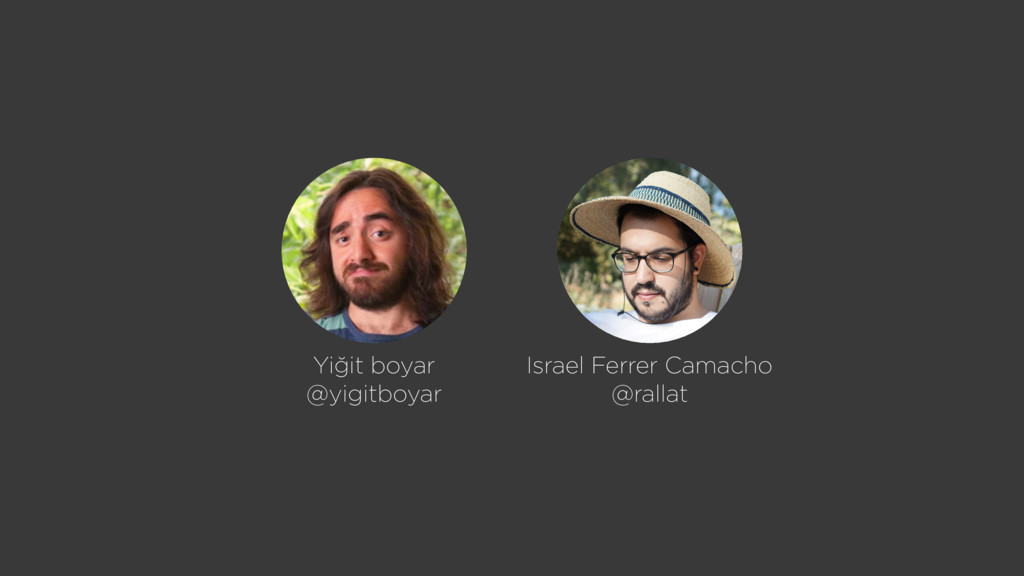 Israel Ferrer Camacho @rallat Yiğit boyar @yigi...