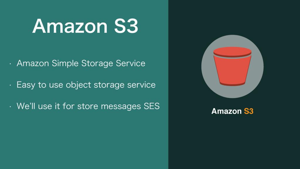 """Amazon S3 w """"NB[PO4JNQMF4UPSBHF4FSWJDF w &B..."""